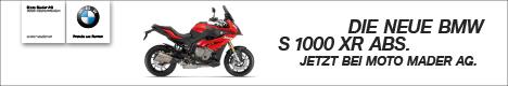 Bei Moto Mader Neue BMW S1000XR ABS