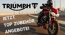 Triumph Top Zubehör Angebote 2015