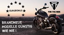 Triumph Verlängert Eurobuns 2015