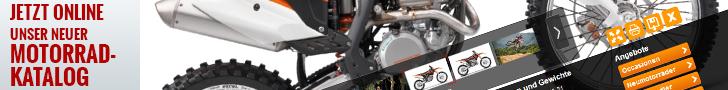 Motorradkatalog - Neufahrzeuge - Topangebote - Occasionen - Vermietung